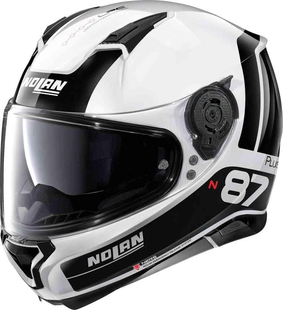 NOLAN N87  PLUS WHITE